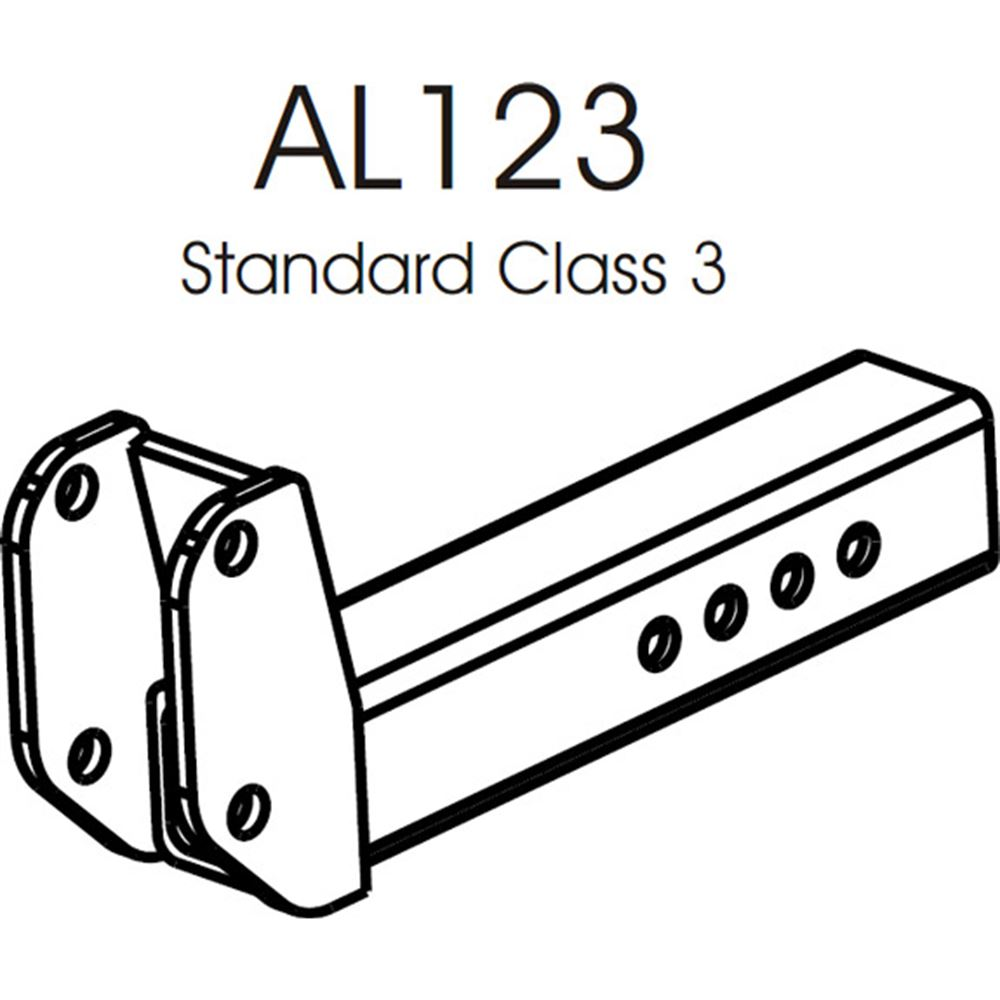 AL123 Harmar Class III Hitch Adapter