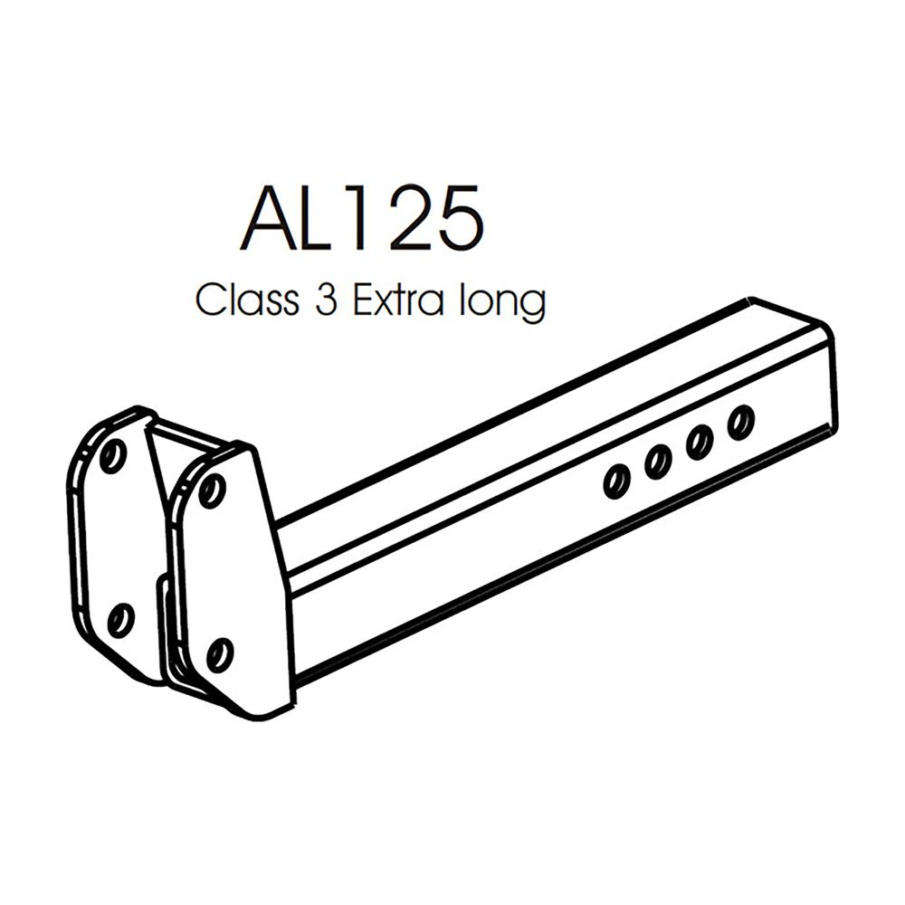 AL125 Harmar Class III Extra Long Hitch Adapter