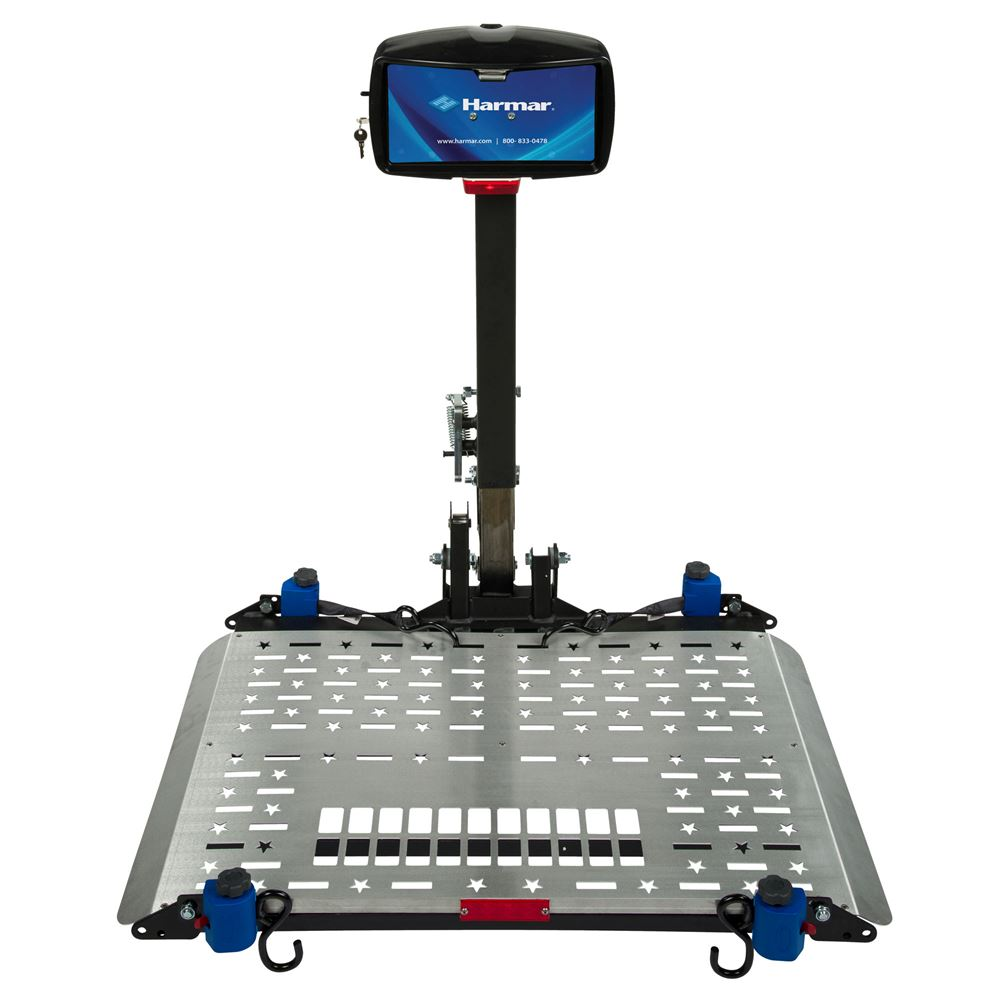 Electronic Chair Lift : Harmar electric universal power chair lift carrier