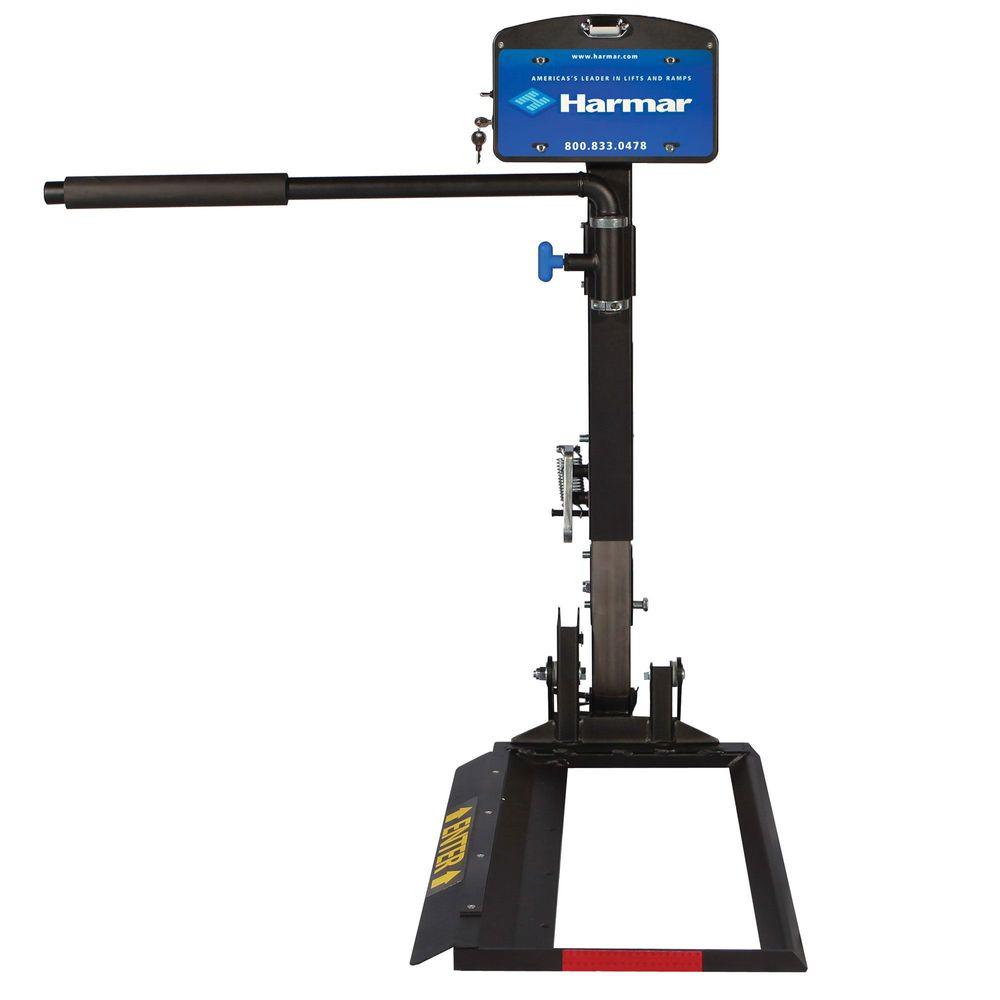 AL580XL Harmar Profile Extra-Large Mid-Wheel Drive Power Wheelchair Lift