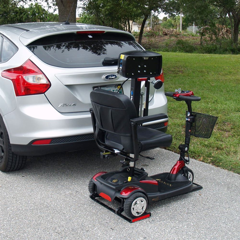 Harmar mobility scooter lift bundle discount ramps for Motorized wheelchair lifts for cars