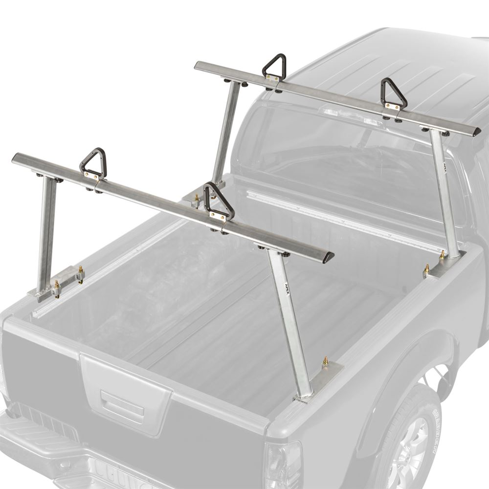 Apex No-Drill Aluminum Truck Rack with Ladder Stops