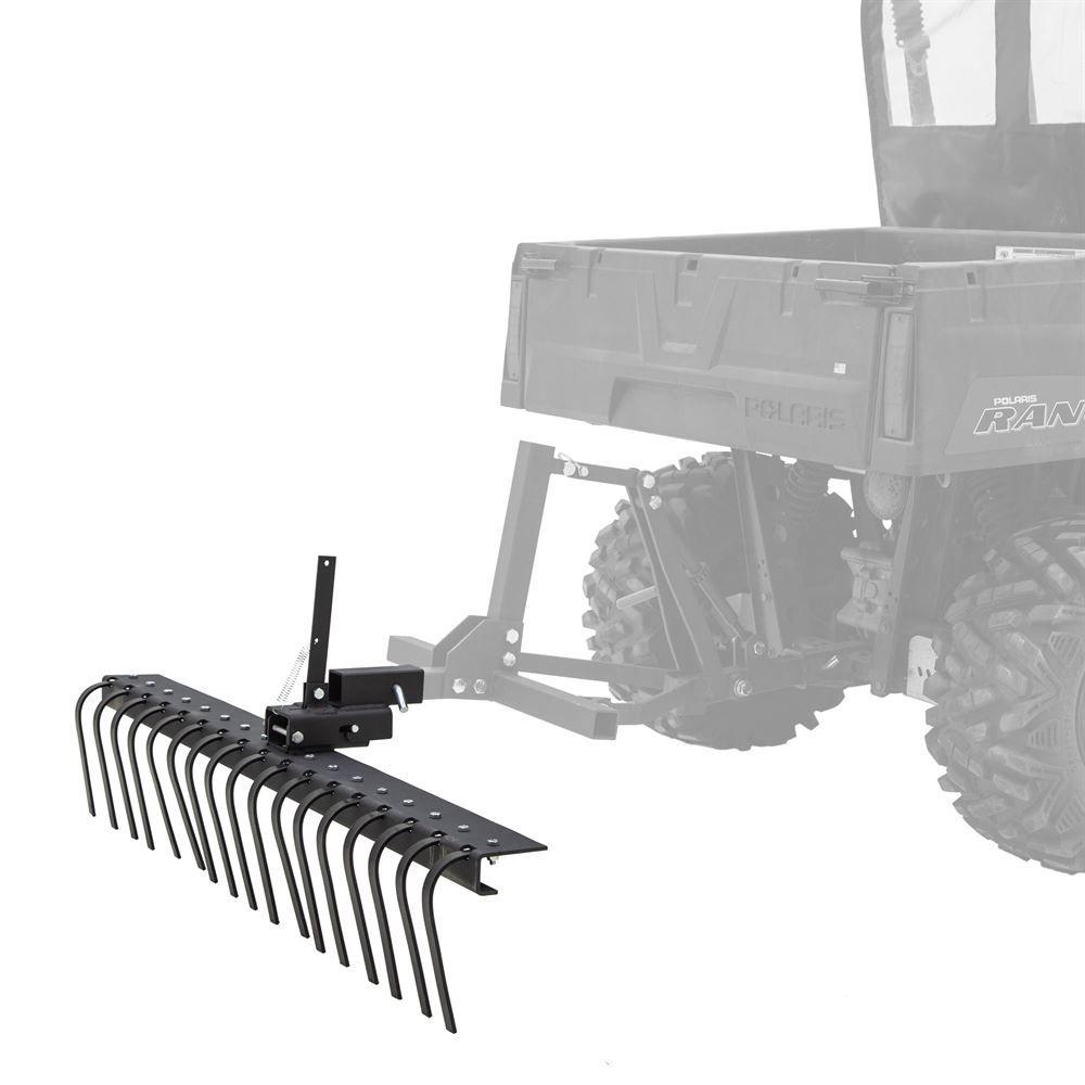 ATV-RAKE-2143 Black Widow 60 W Rake ATVUTV Implement Attachment