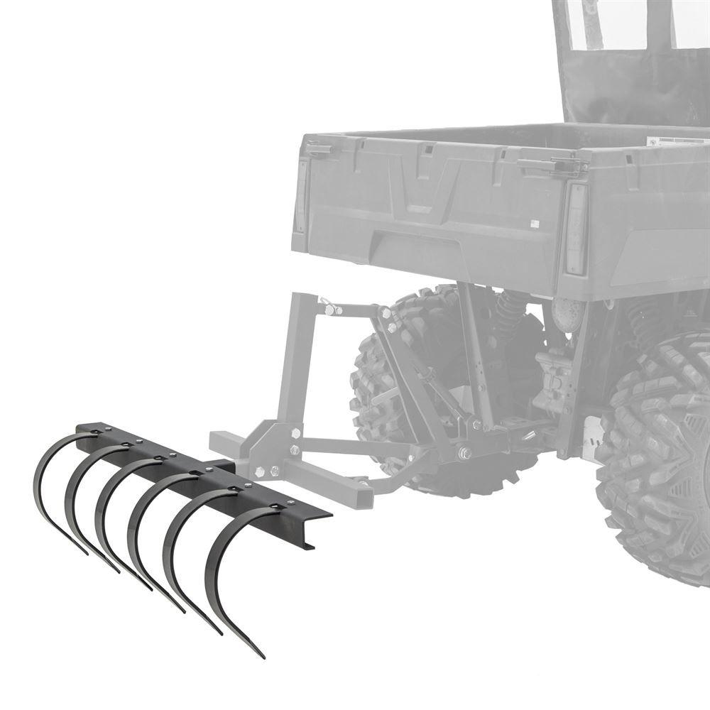 ATV-TINE-2145 Black Widow 50 Tine Plow ATVUTV Implement Attachment