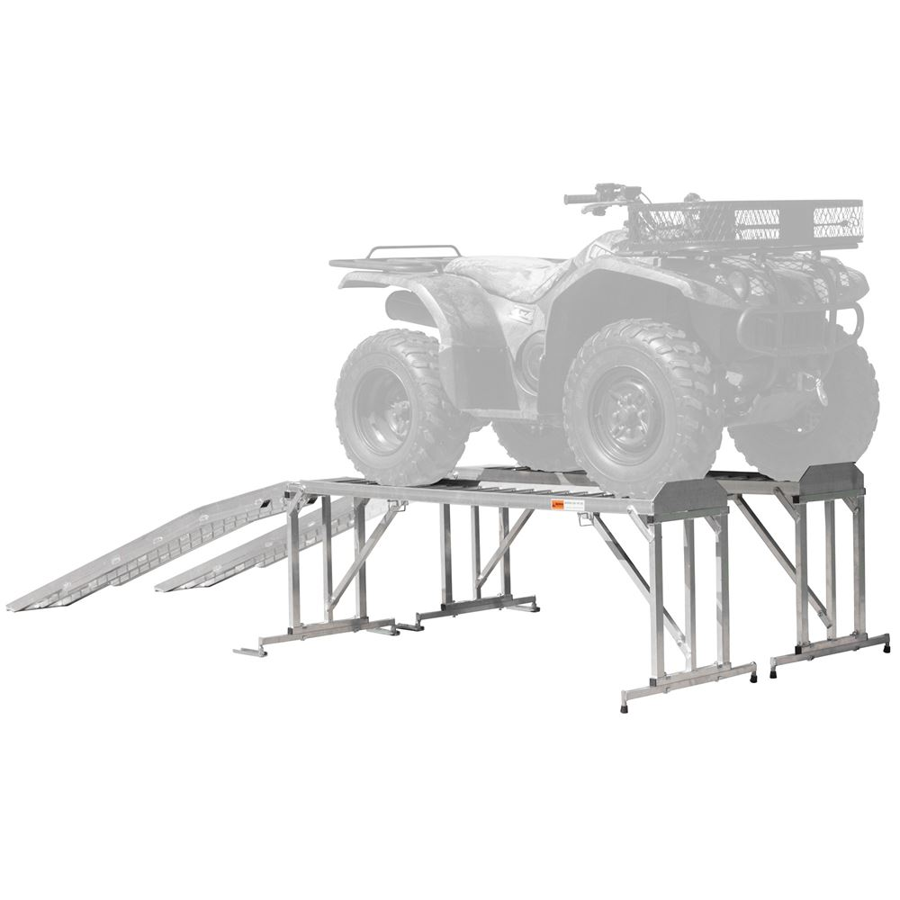 Aluminum Atv Amp Lawn Tractor Stand 1 800 Lb Capacity