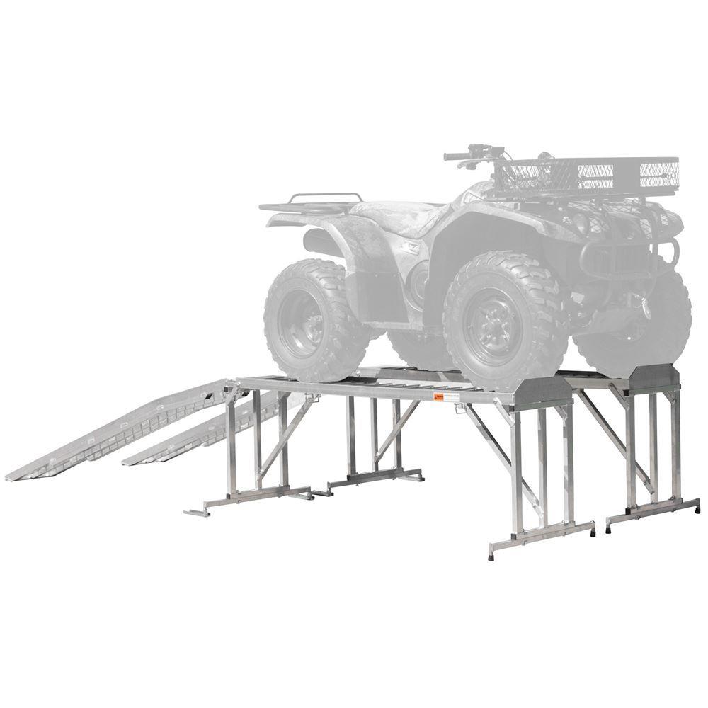 ATV-TRA-STAND Aluminum ATV  Lawn Tractor Stand - 1800 lb Capacity