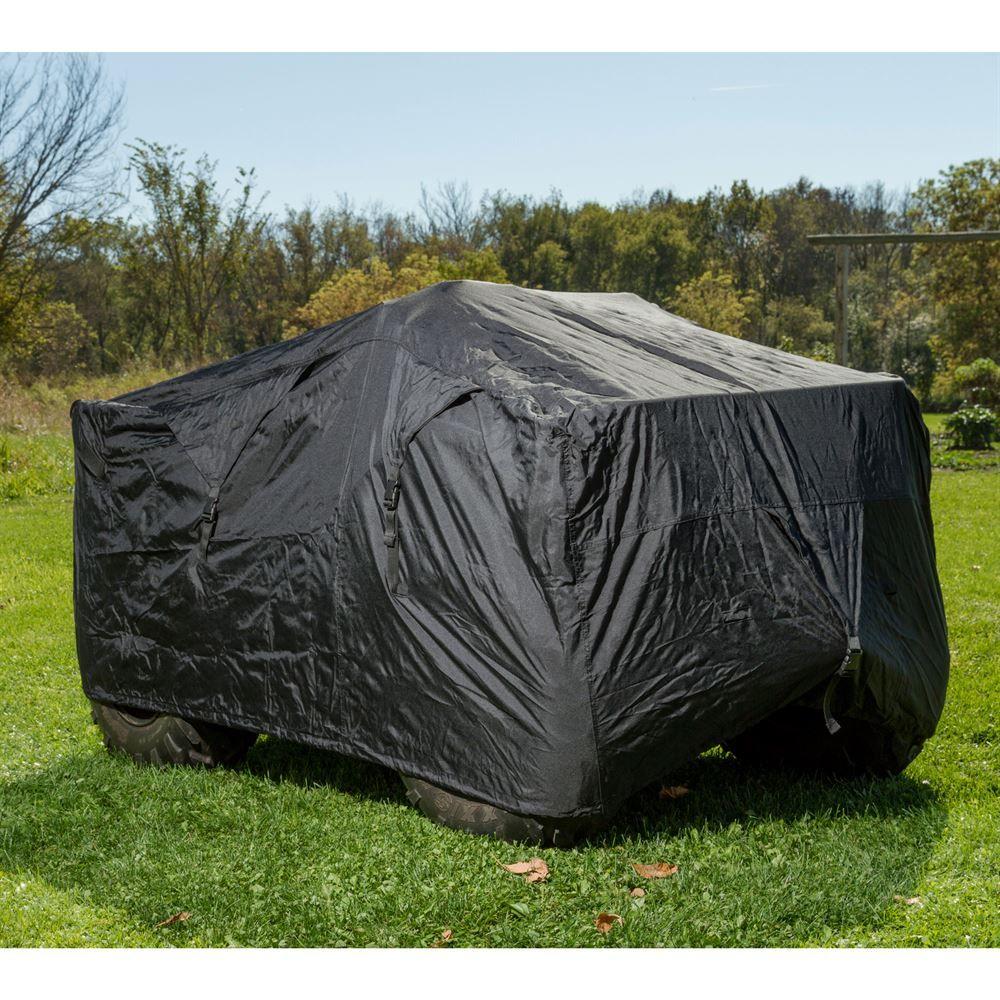 ATVC-DLXT-BK Black Widow ATVQuad Covers