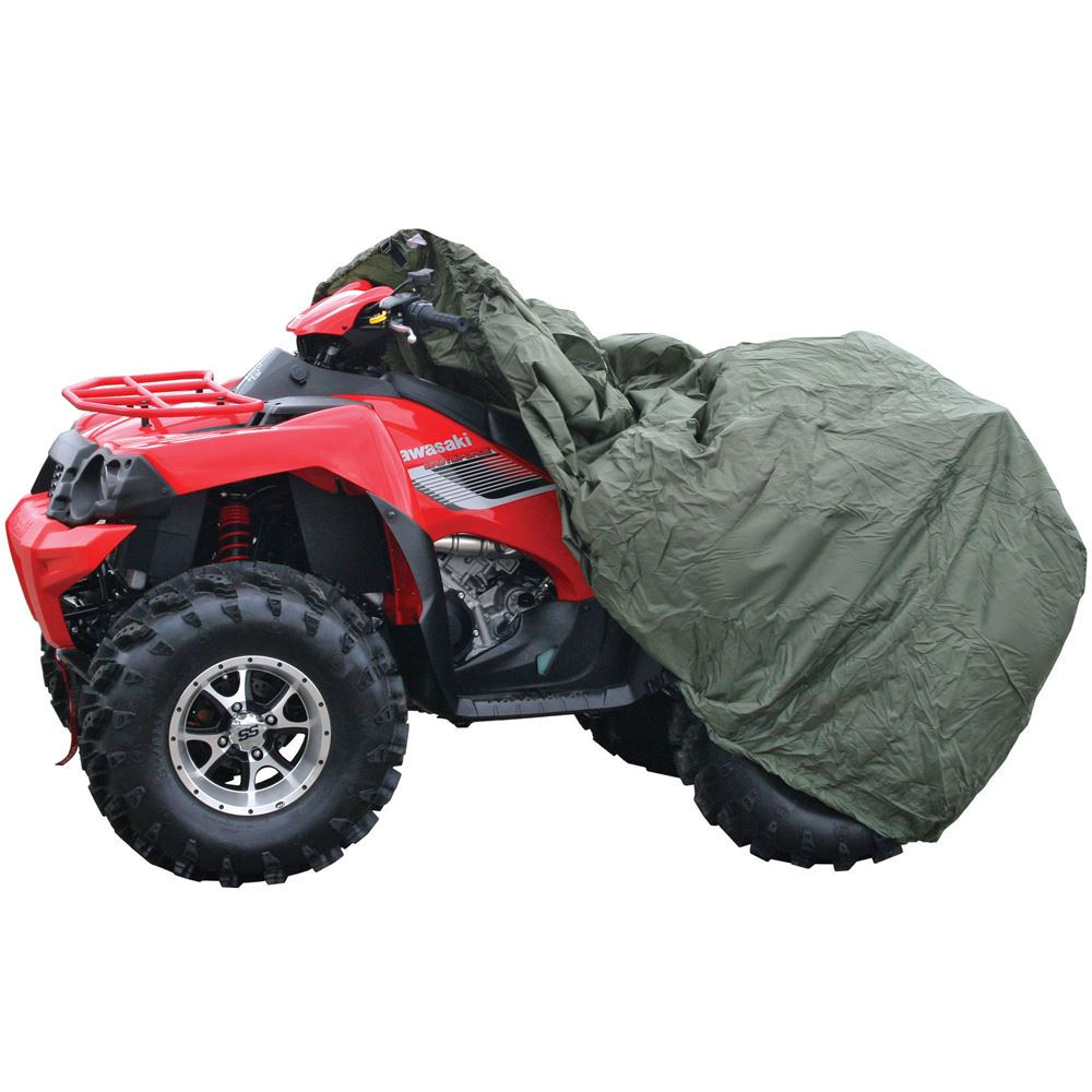 ATVC-OM Water-Resistant Medium Olive ATV Cover