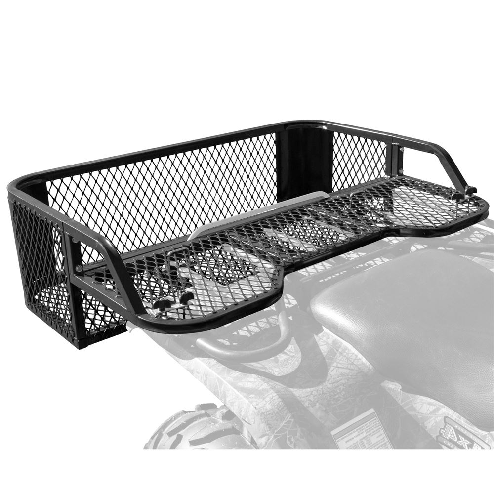 ATVDB-4315 Black Widow Steel Mesh ATV Rear Rack Drop Basket