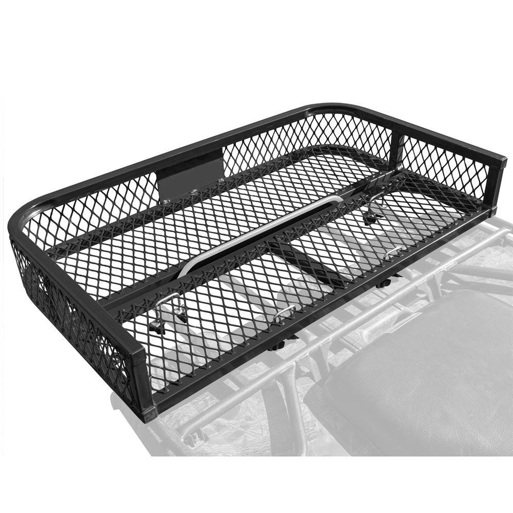 product utility basket drop rack universal atv quadrax rear
