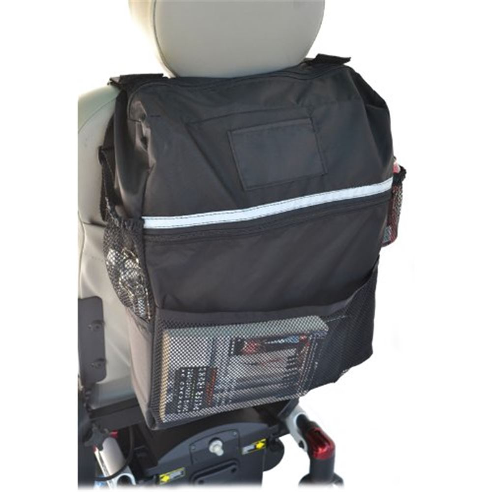 B1121 Deluxe Seatback Wheelchair Bag