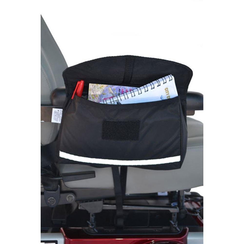 B2111 Mobility Saddlebag for Wheelchairs Powerchairs and Scooters - 8L x 10W x 3D