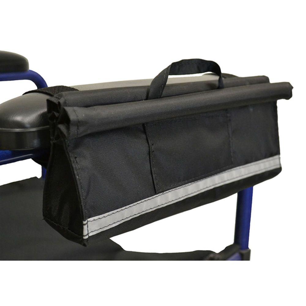B2113 Armrest Wheelchair Bag - Wheelchair Pocket - 3L x 11W x 3D