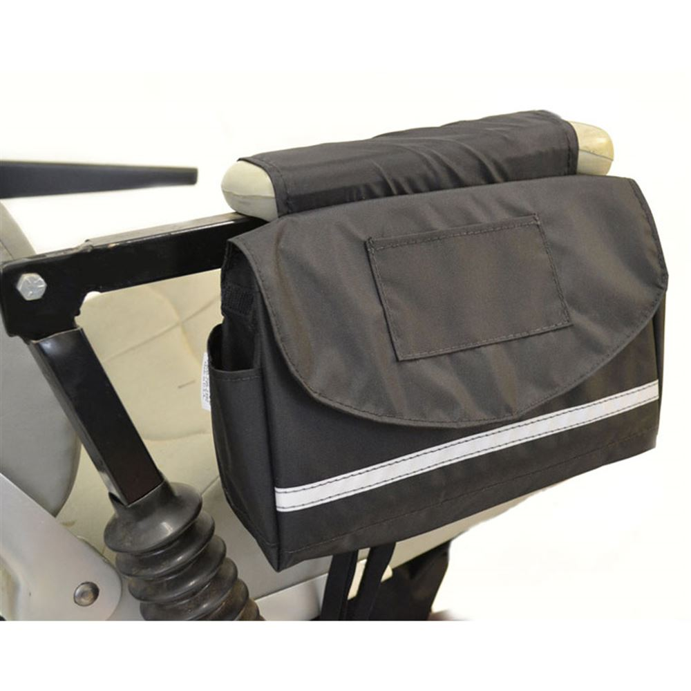 B2121 Deluxe Mobility Saddlebag for Powerchairs Scooters and Wheelchairs - 8L x 10W x 3D