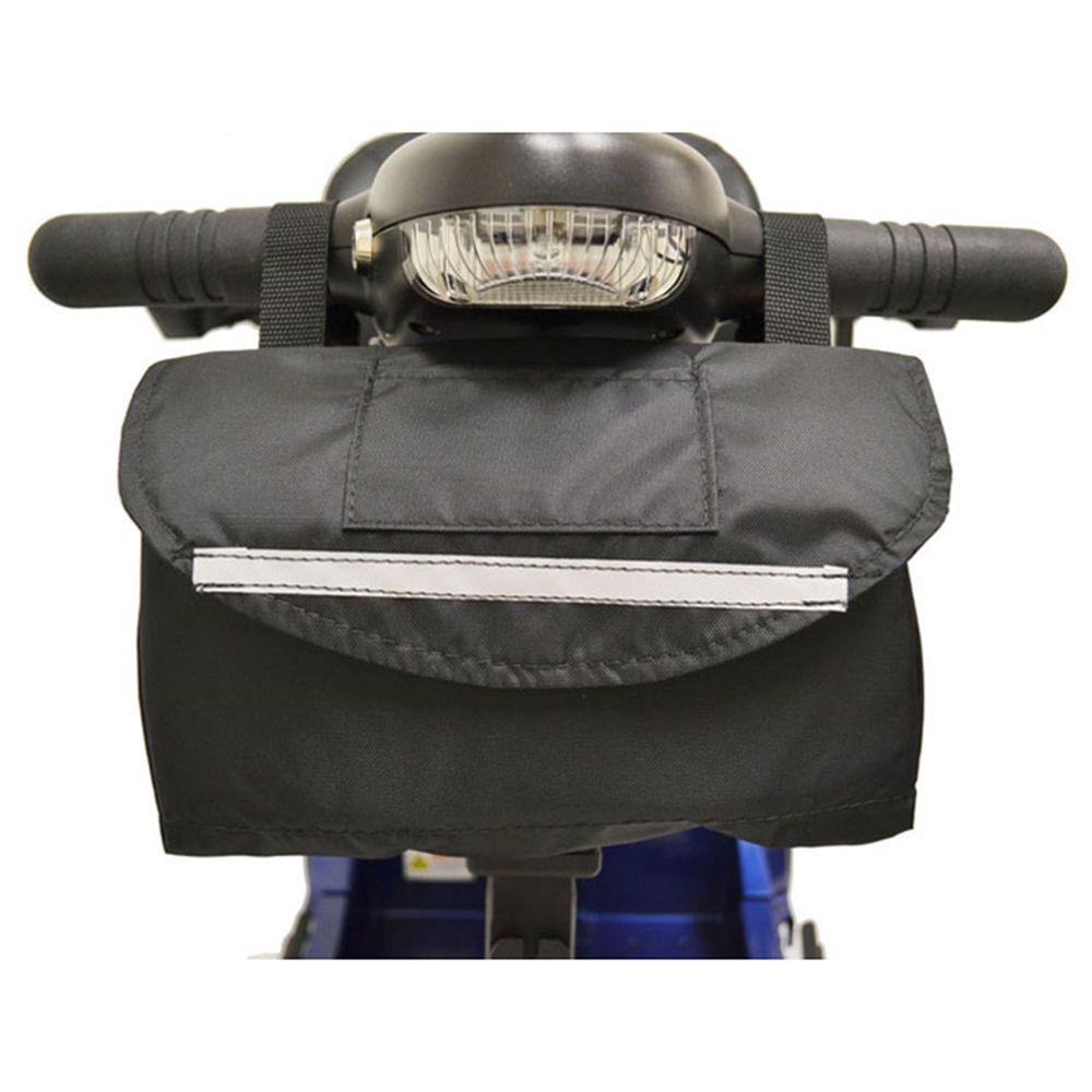 B4211 Standard Mobility Scooter Tiller Basket - 6 L x 10 W x 3 D