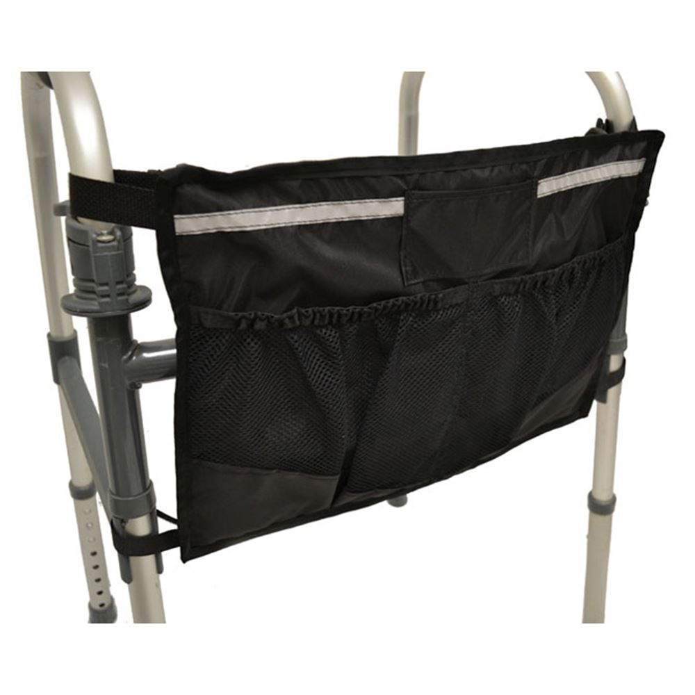 B5412 Medical Walker Bag - Front Bag - 12 L x 17 W x 2 H