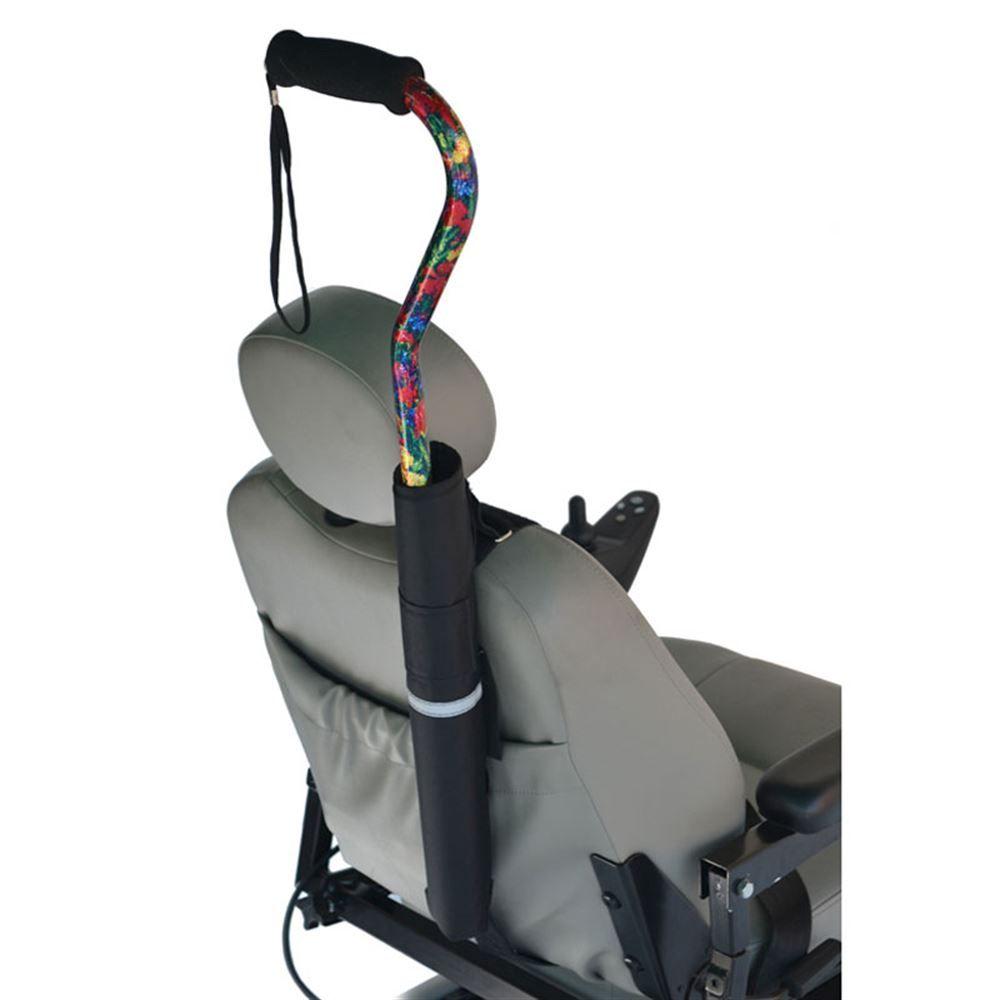 B6-12 Wheelchair Cane Holder