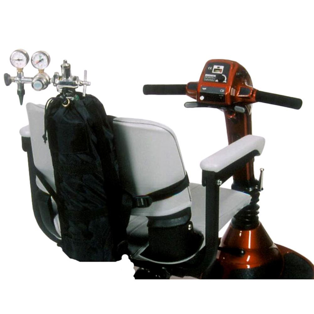 Wheelchair Small Oxygen Tank Holder   Discount Ramps on wheelchair stand up and play, courtesy cart, grocery cart,