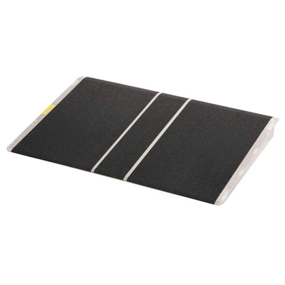 BAR36-Threshold-Ramp PVI Aluminum Solid Bariatric Threshold Ramp - 800 lb Capacity