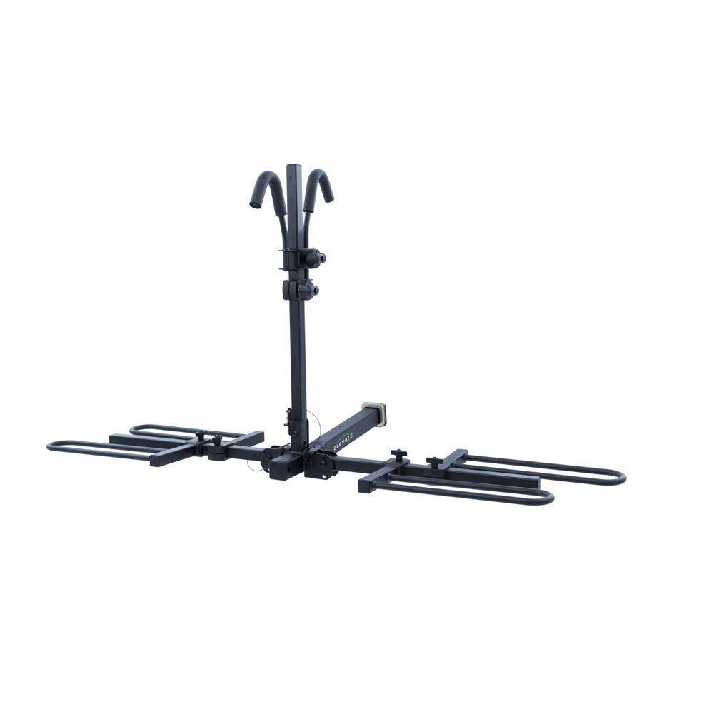 BC-7845-2 Elevate Outdoor Tray-Style Hitch Bike Rack - 2 Bike