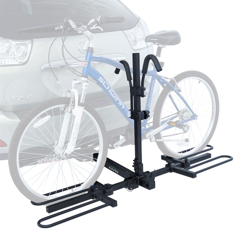 Rear Transport Cover 2 Bike Protective Cover Grey for Hitch Mount Bicycle Racks