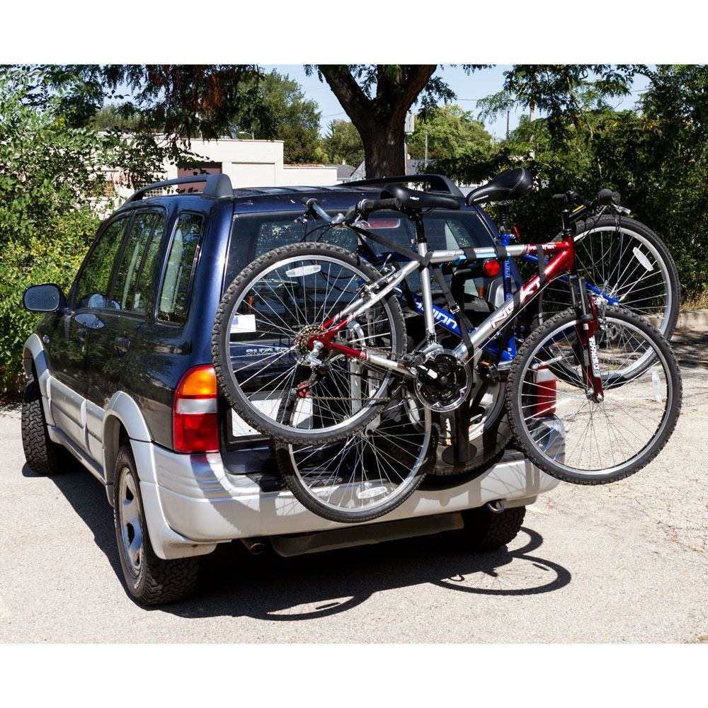 Apex Premium Spare Tire Bike Rack 2 Bike Discount Ramps
