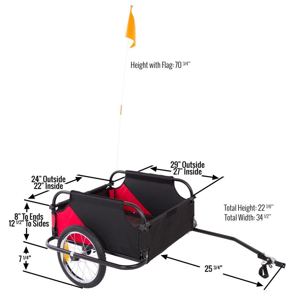 BCT-20301 Apex Bicycle Cargo Trailer 6