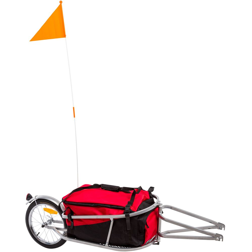 Apex Single Wheel Bicycle Cargo Trailer Discount Ramps