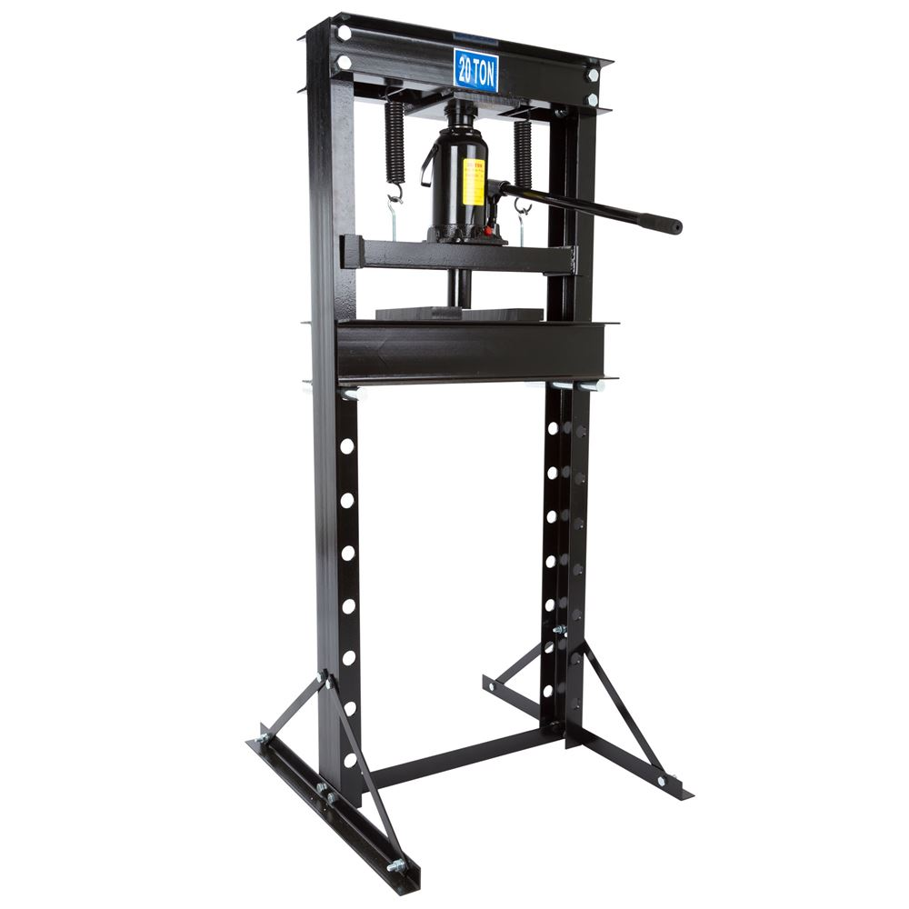 BD-PRESS-20H Black Widow 20 Ton Hydraulic Shop Press