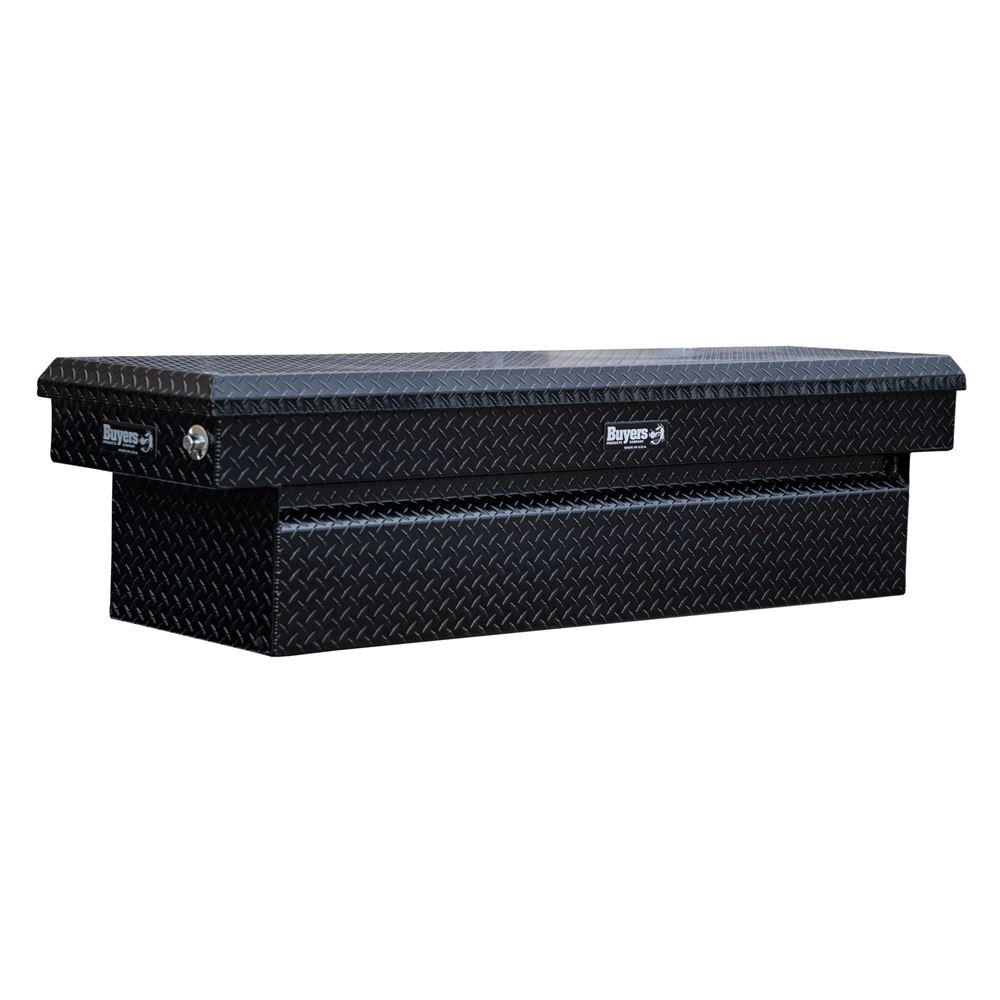 BDTA-CROSSOVERTB Buyers Products Black Diamond Tread Aluminum Crossover Truck Tool Boxes