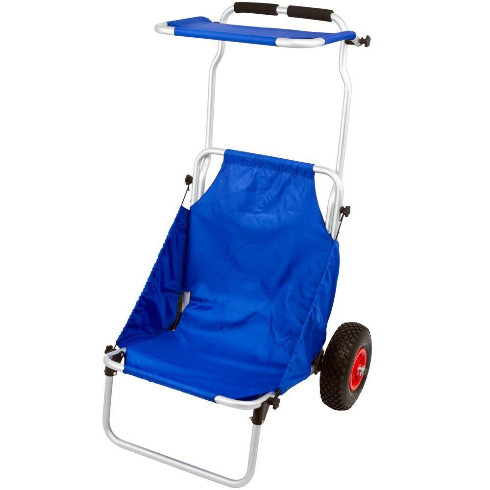 BFC Harbor Mate Folding Beach Chair  Cart
