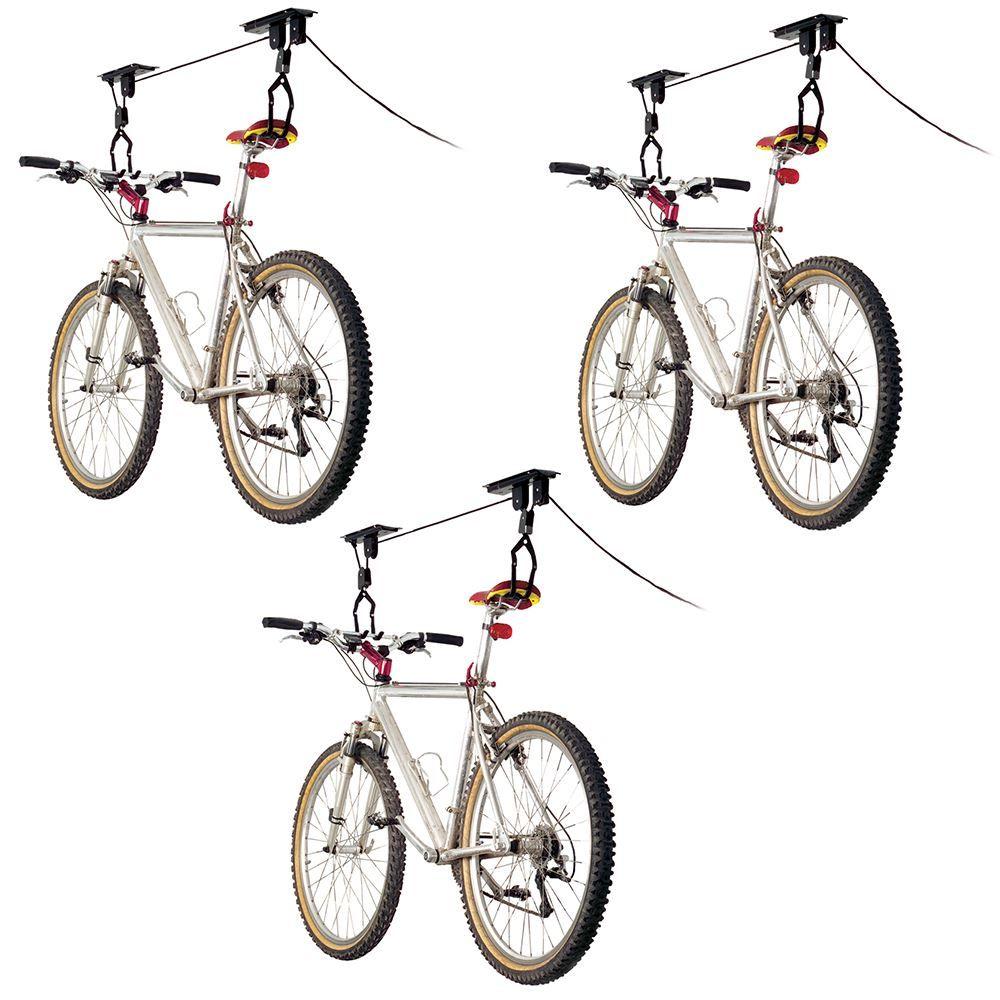 BL-71122-3 3-Bike Apex Ceiling Mount Bicycle Hoist