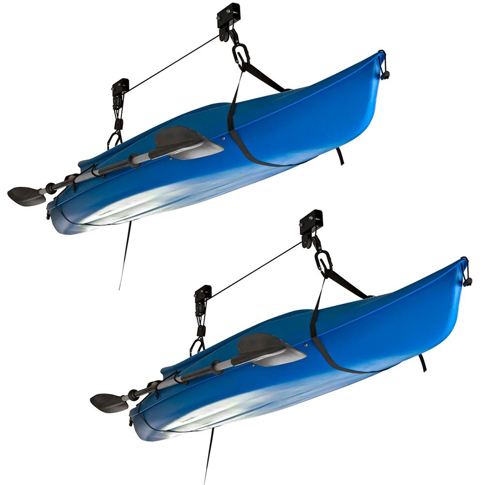 2 Pack Apex Kayak And Canoe Storage Hoist Discount Ramps