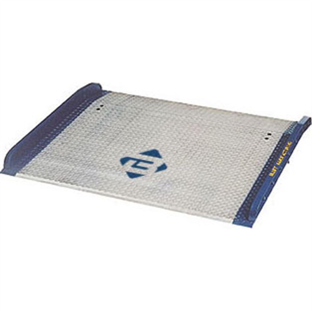 BLUFF-AC-DOCK-PLATES-C Bluff Aluminum Model AC Dock Plate with Steel Curbs - 10000 lb Capacity