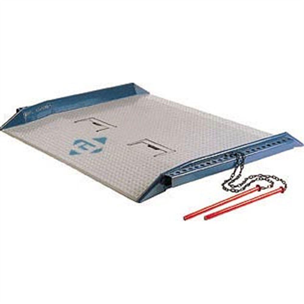 BLUFF-HD-DOCK-BOARDS-15K Bluff Steel Red Pin Dock Boards - 15000 lb Capacity