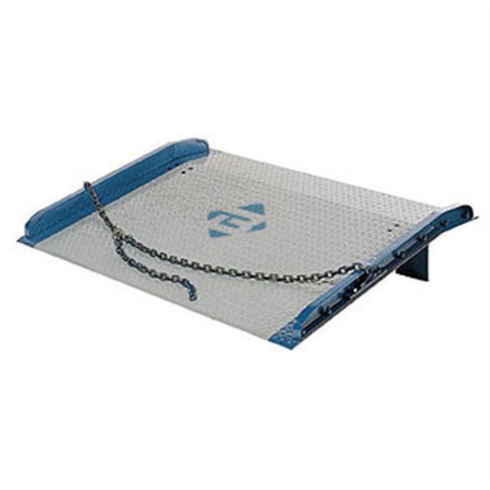BLUFF-STEEL-DOCK-BOARDS-10K Bluff Steel Dock Boards with Welded Curbs - 10000 lb Capacity