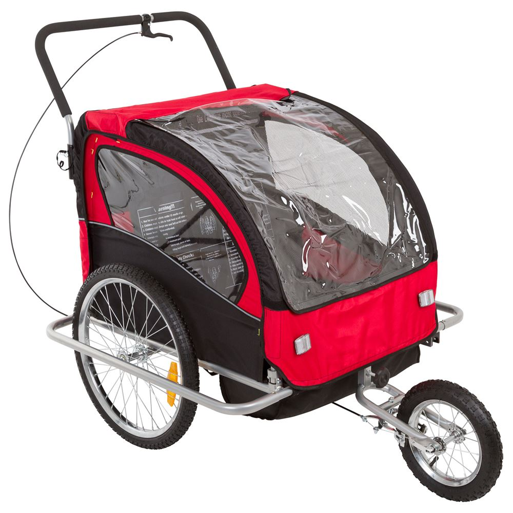 BT-502 Apex Double Stroller and Bike Trailer