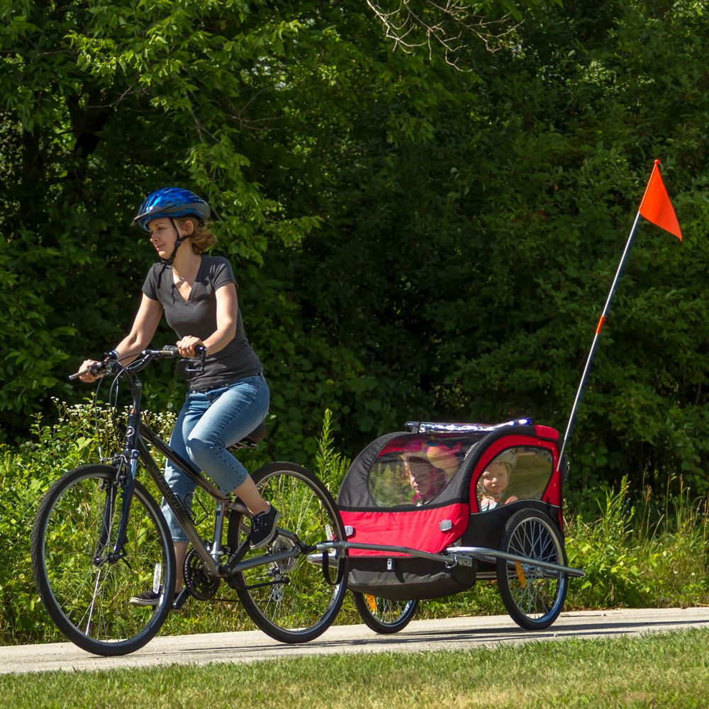 Apex Double Stroller and Bike Trailer | Discount Ramps