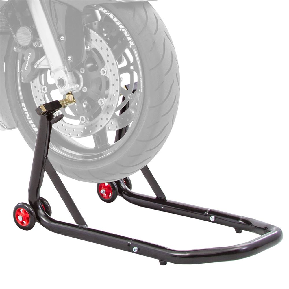 BW-06-V2 Black Widow Pin Motorcycle Front Stand Kit
