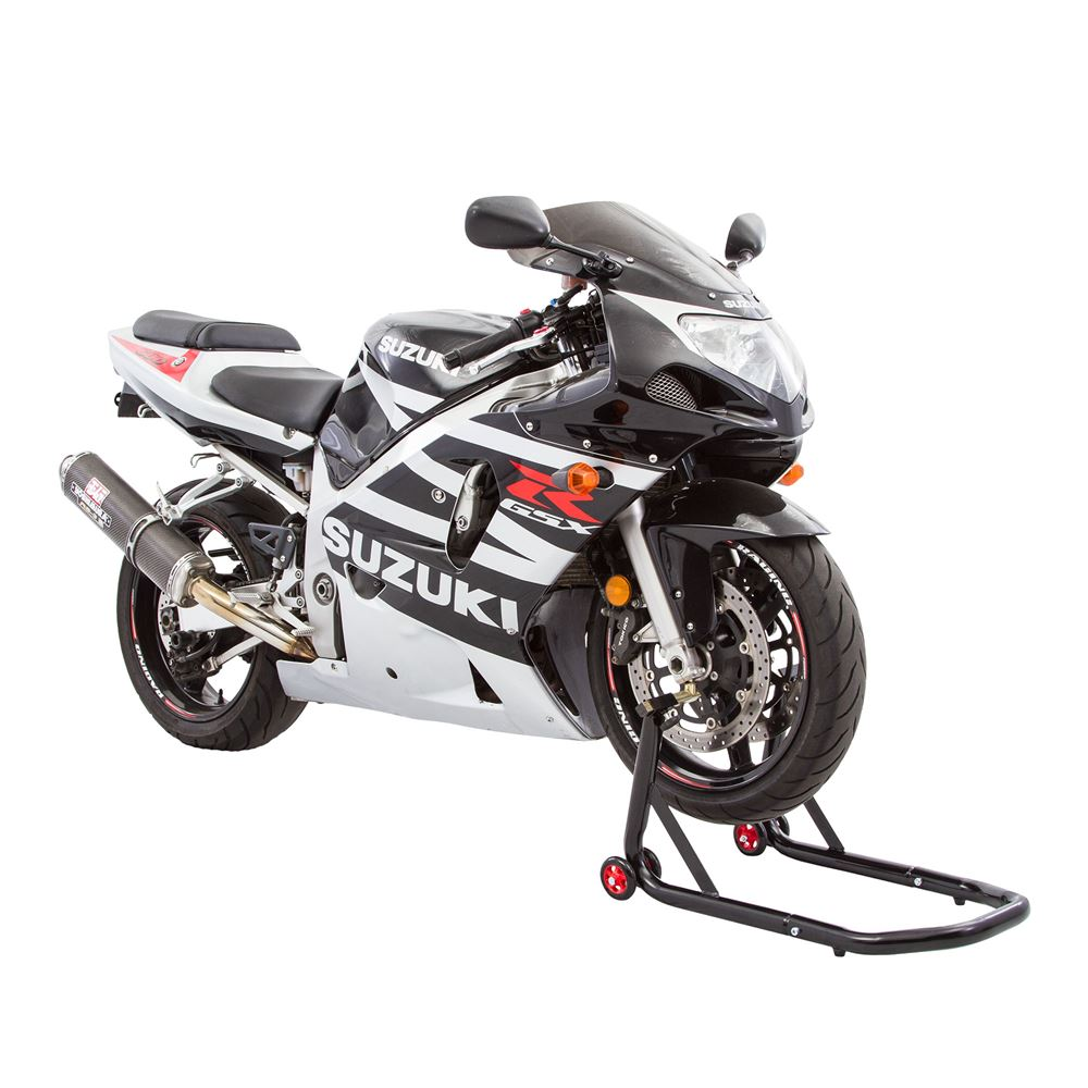 Black Widow Pin Motorcycle Front Stand Kit | Discount Ramps