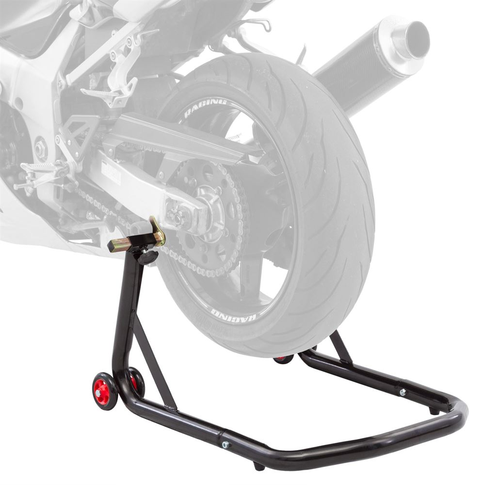 Black Widow Spool Rear Motorcycle Stand | Discount Ramps