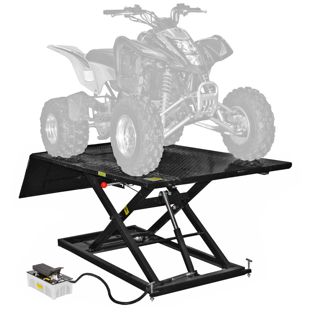 Black Widow Air Hydraulic Atv Lift Table 1 500 Lbs