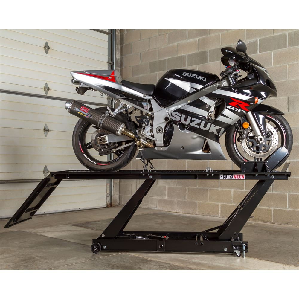 Black Widow Hydraulic Motorcycle Lift Table 1 000 Lb