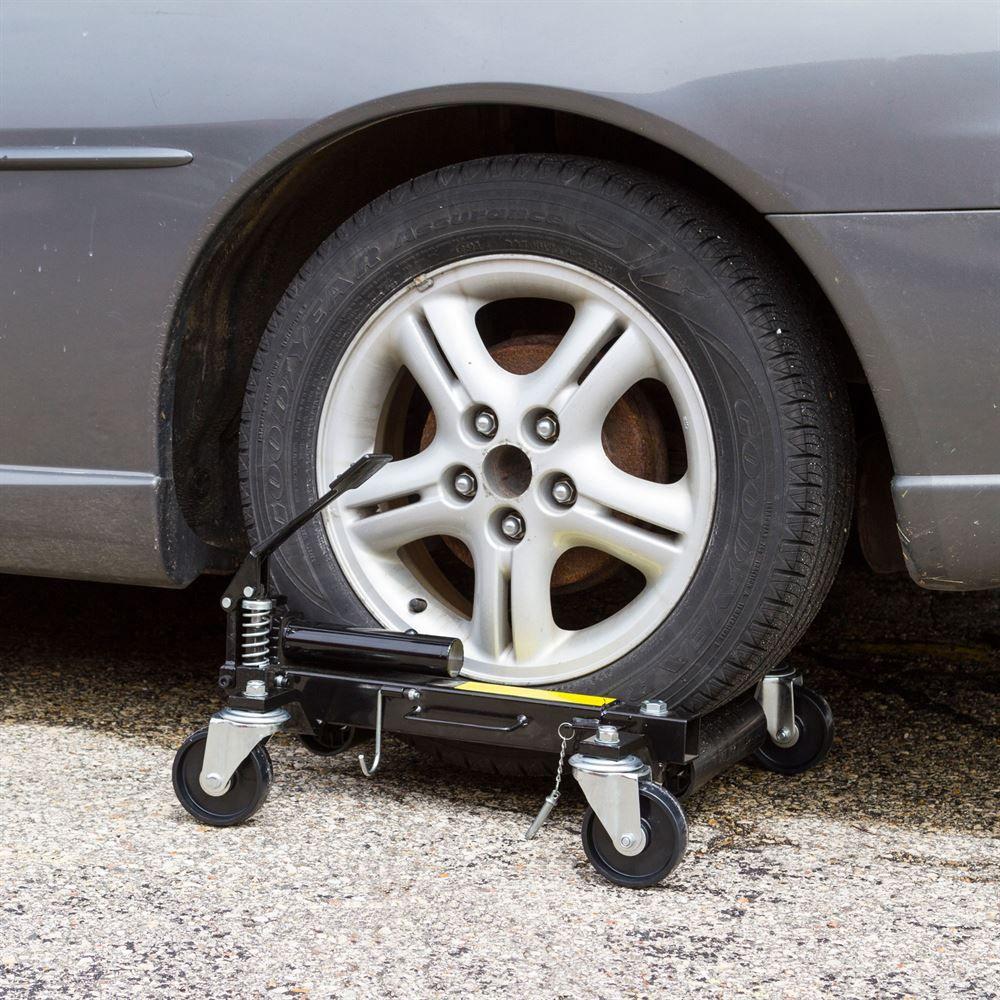Black Widow Steel Hydraulic Jack Amp Vehicle Wheel Dolly