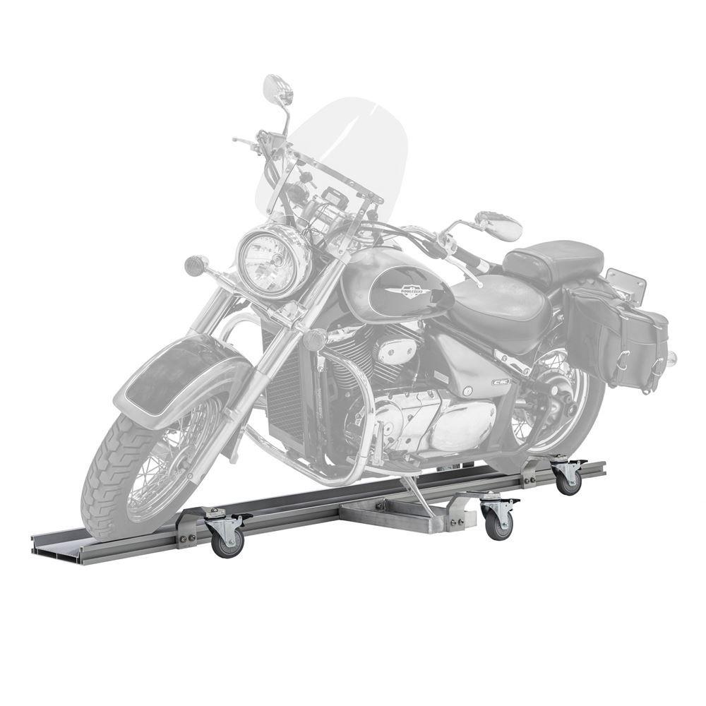 BW-PRO-DOLLY Black Widow Pro Aluminum Motorcycle Dolly  1500 lb Capacity