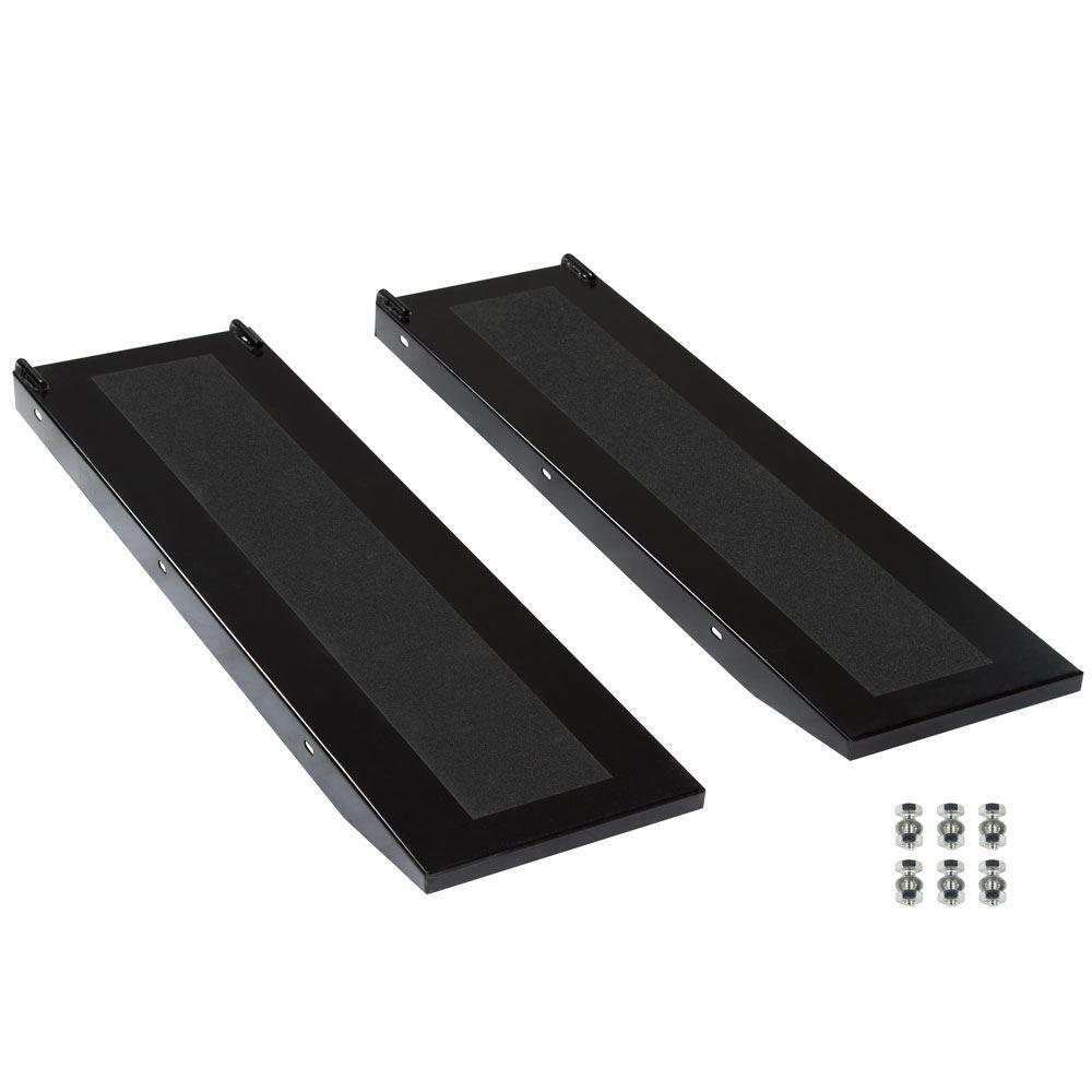 BW-PROLIFT-HD-XLSR Black Widow Extra-Long Lift Table Side Extension Approach Ramps