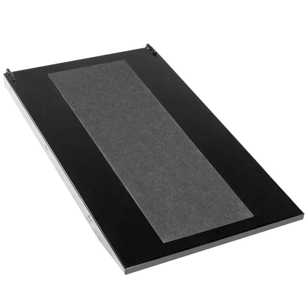 BW-PROLIFT-HD-XLTABR Black Widow Extra-Long Lift Table Approach Ramp