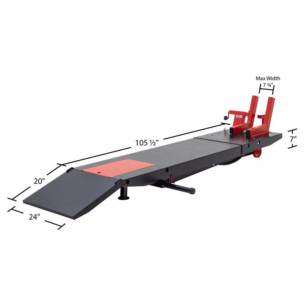 Bw Prolift Hd Black Widow Heavy Duty Airhydraulic Motorcycle Lift Table