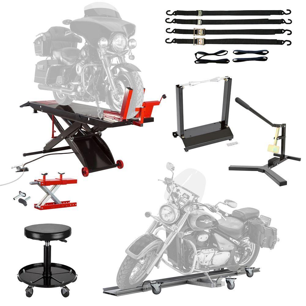 BW-SK-P Black Widow Professional Motorcycle Shop Kit