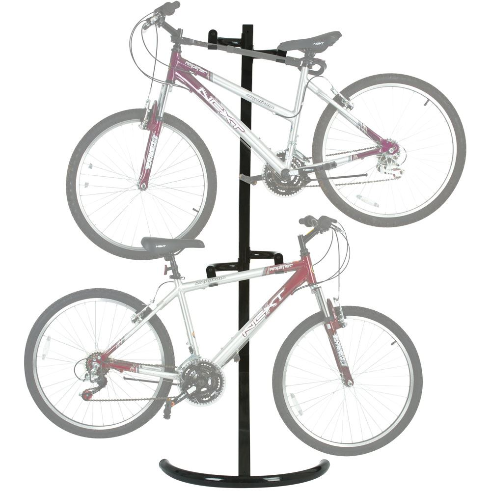 Bike Stand 1 Apex Free Standing Or Wall Mounted 2 Bike Storage Rack